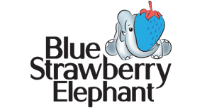 blue-strawberry-elephant-logo
